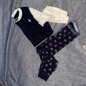 Polo Boys Sleepwear Set